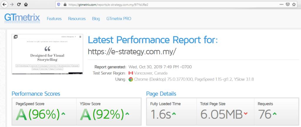 Low-Cost Premium Web Design Agency Cheras - GTmetrix PageSpeed Optimized - LjK Digital Empire