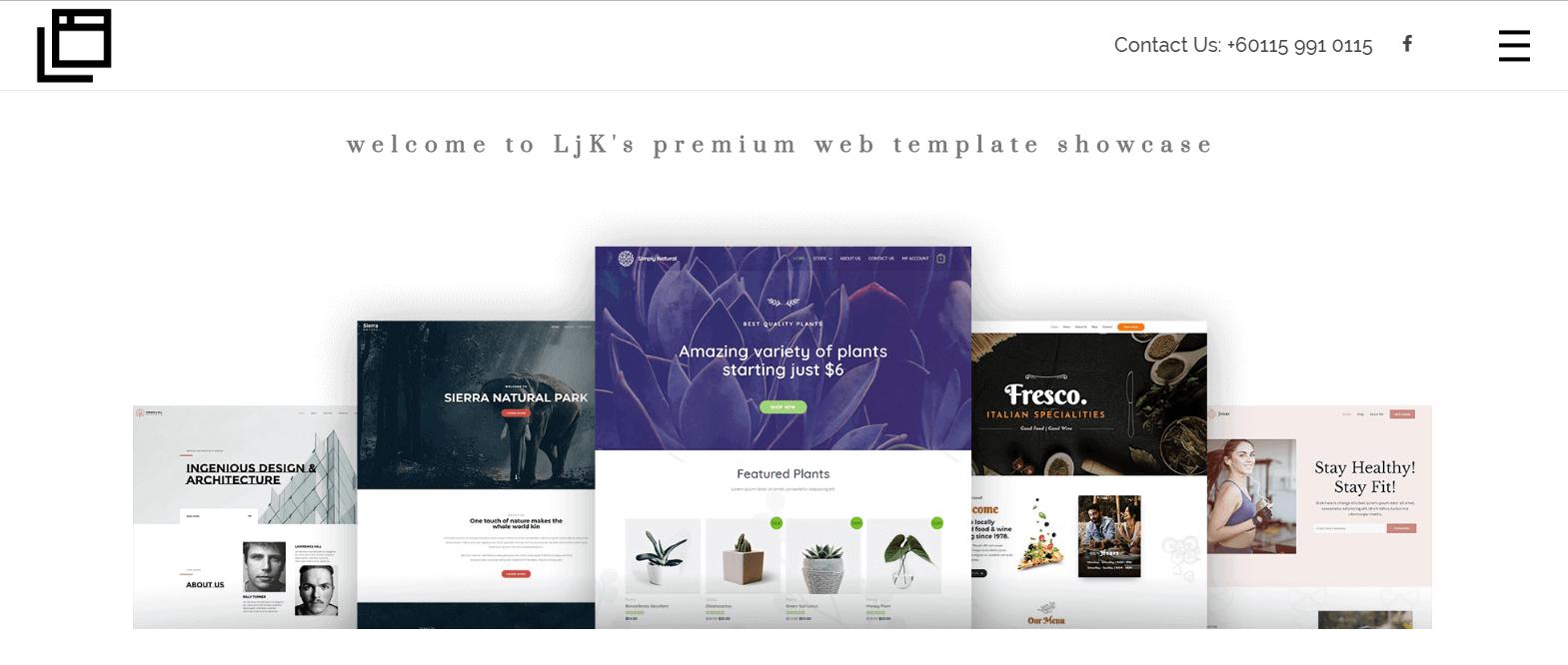 Low-Cost Premium Web Design Agency Cheras - Portfolio - LjK Digital Empire