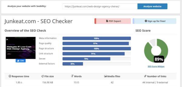 LJK Digital Empire - Low-Cost Web Design Agency Cheras - SEO 3