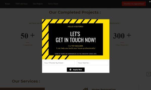 LJK Digital Empire - Professional Landing Page Design - ii